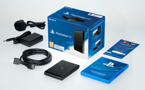 комплект поставки PlayStation TV