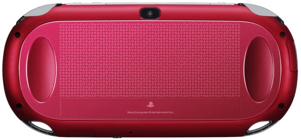 PS Vita Cosmic Red