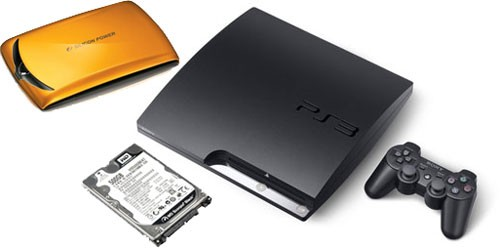PS3 и HDD