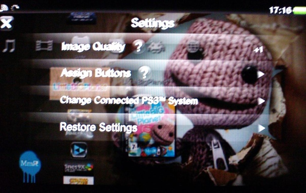 PS Vita Remote Play PS3