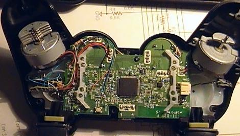 клавиш контроллера PS3