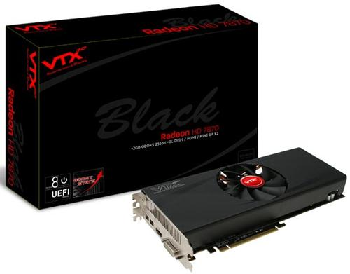 VTX3D HD7870 Black Edition