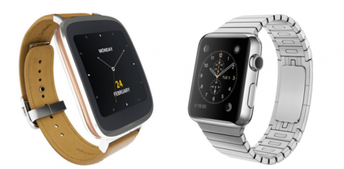 ASUS ZenWatch и Apple Watch