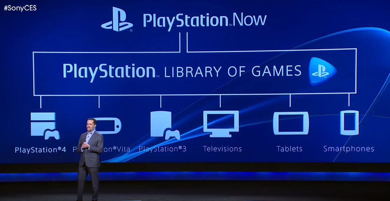 Презентация PlayStation Now