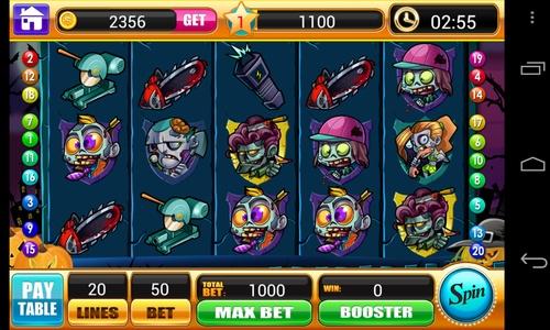 Игровой автомат zombies зомби